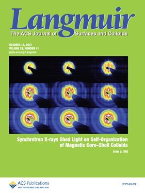 Langmuir: Volume 28, Issue 41