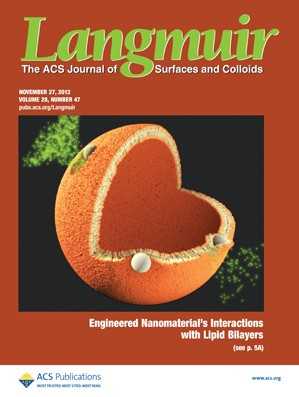 Langmuir: Volume 28, Issue 47