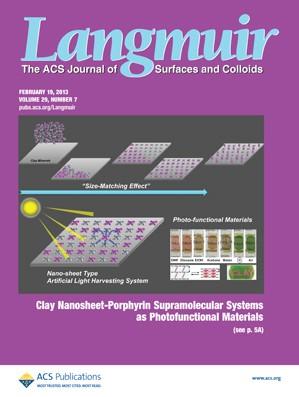 Langmuir: Volume 29, Issue 7