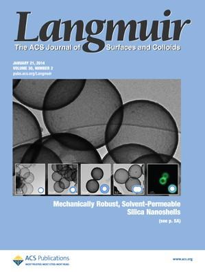 Langmuir: Volume 30, Issue 2
