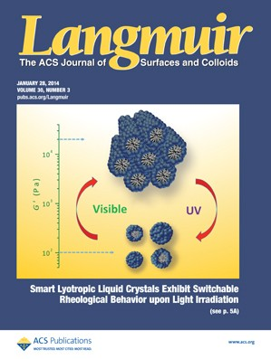 Langmuir: Volume 30, Issue 3