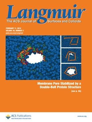 Langmuir: Volume 30, Issue 5