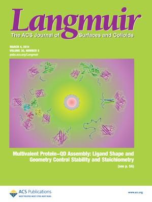 Langmuir: Volume 30, Issue 8