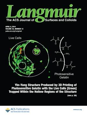 Langmuir: Volume 30, Issue 13