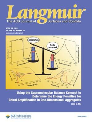Langmuir: Volume 30, Issue 16