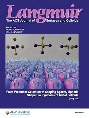 Langmuir: Volume 30, Issue 23