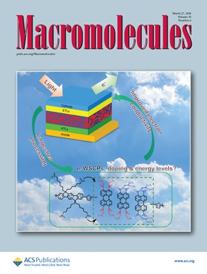Macromolecules: Volume 51, Issue 6