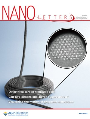 Nano Letters: Volume 16, Issue 4