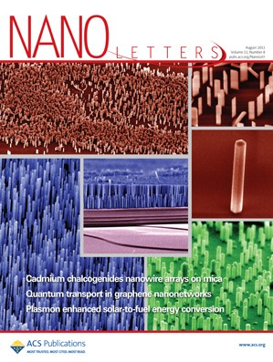 Nano Letters: Volume 11, Issue 8