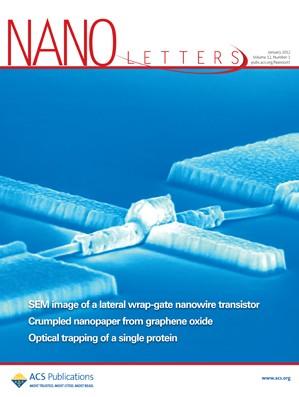 Nano Letters: Volume 12, Issue 1