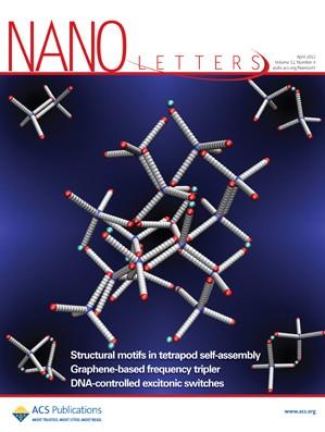 Nano Letters: Volume 12, Issue 4