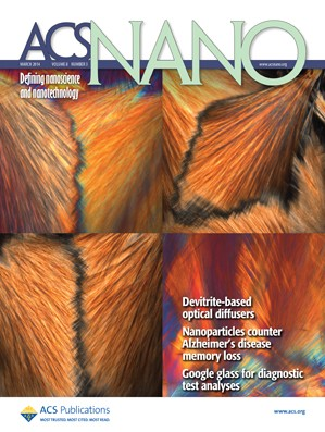 ACS Nano: Volume 8, Issue 3