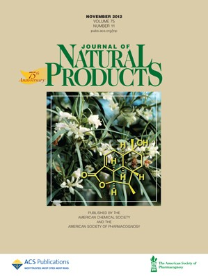 Journal of Natural Products: Volume 75, Issue 11