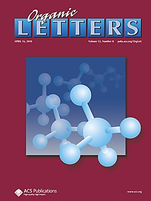 Organic Letters: Volume 12, Issue 8