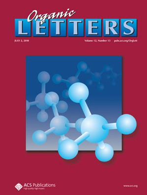 Organic Letters: Volume 12, Issue 13