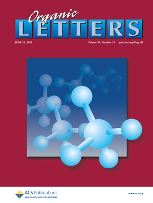 Organic Letters: Volume 14, Issue 12