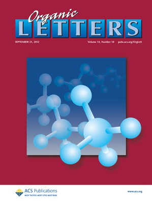 Organic Letters: Volume 14, Issue 18