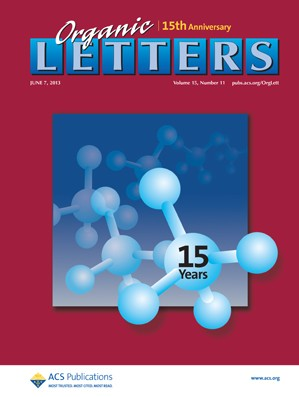 Organic Letters: Volume 15, Issue 11