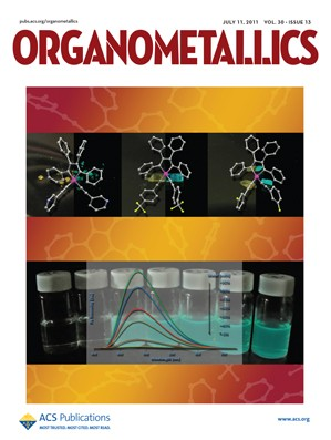 Organometallics: Volume 30, Issue 13