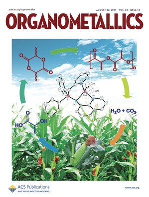 Organometallics: Volume 30, Issue 16