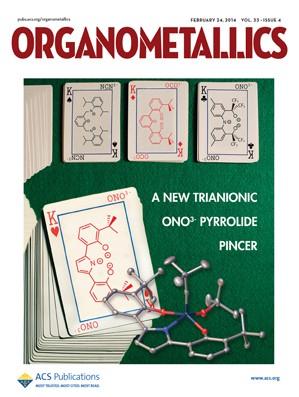 Organometallics: Volume 33, Issue 4