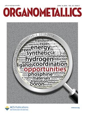 Organometallics: Volume 33, Issue 7