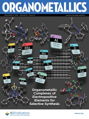 Organometallics: Volume 37, Issue 23
