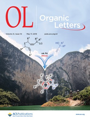 Organic Letters: Volume 21, Issue 10