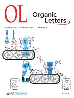 Organic Letters: Volume 21, Issue 22