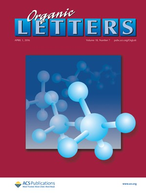 Organic Letters: Volume 18, Issue 7