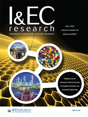 Industrial & Engineering Chemistry Research: Volume 53, Issue 26