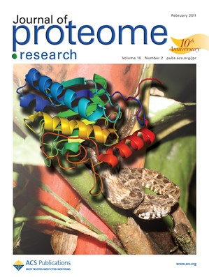 Journal of Proteome Research: Volume 10, Issue 2