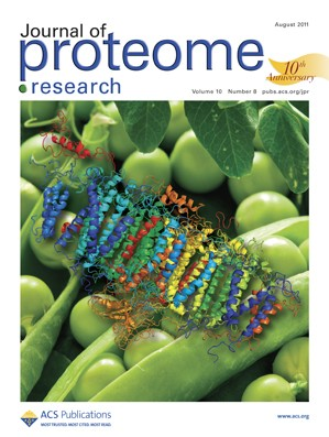 Journal of Proteome Research: Volume 10, Issue 8