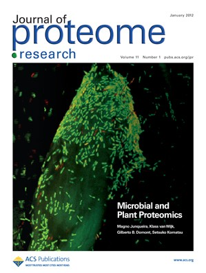 Journal of Proteome Research: Volume 11, Issue 1