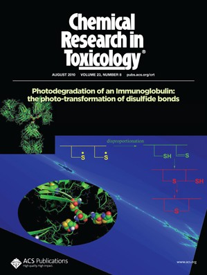Chemical Research in Toxicology: Volume 23, Issue 8