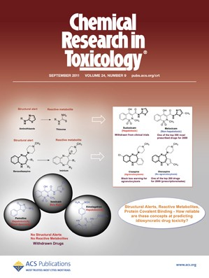 Chemical Research in Toxicology: Volume 24, Issue 9