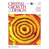 Crystal Growth & Design: Volume 20, Issue 8