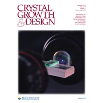 Crystal Growth & Design: Volume 17, Issue 9