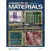 Chemistry of Materials: Volume 25, Issue 1