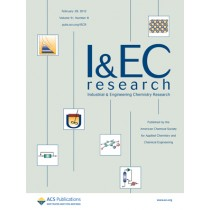 Industrial & Engineering Chemistry Research: Volume 51, Issue 8