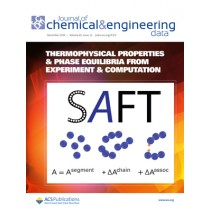 Journal of Chemical & Engineering Data: Volume 65, Issue 12