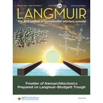 Langmuir: Volume 35, Issue 10