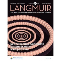 Langmuir: Volume 35, Issue 11