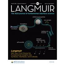 Langmuir: Volume 35, Issue 15
