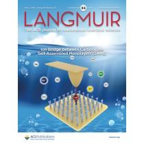 Langmuir: Volume 35, Issue 18