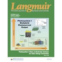 Langmuir: Volume 30, Issue 37