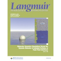 Langmuir: Volume 30, Issue 38