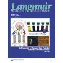 Langmuir: Volume 30, Issue 47
