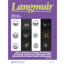 Langmuir: Volume 30, Issue 49