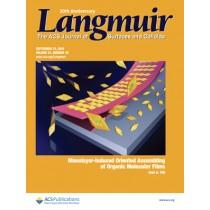 Langmuir: Volume 31, Issue 36